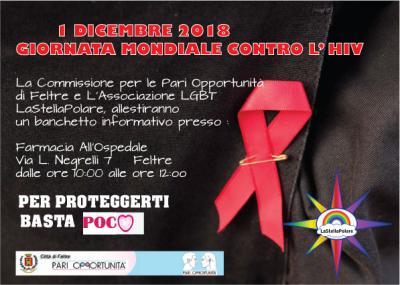 GIORNATA MONDIALE CONTRO L'HIV 2018